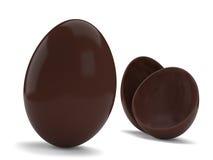 Ovos de chocolate ilustração royalty free
