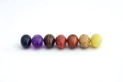 Ovos da páscoa em seguido Imagens de Stock