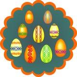 Ovos pintados para Easter Foto de Stock Royalty Free