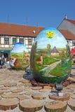 Ovos da páscoa, Koprivnica Foto de Stock Royalty Free
