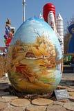 Ovos da páscoa, Koprivnica Fotografia de Stock Royalty Free