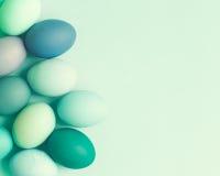 Ovos da páscoa pasteis Fotografia de Stock Royalty Free