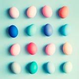Ovos da páscoa pasteis Imagem de Stock