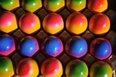 Ovos da páscoa coloridos Fotografia de Stock Royalty Free