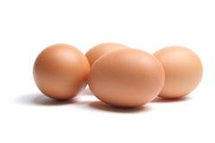 Ovos de Brown Fotografia de Stock Royalty Free