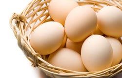 Ovos de Brown Fotos de Stock