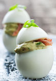 Ovos de Deviled Foto de Stock Royalty Free
