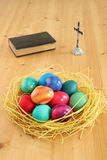 Ovos de Easter. fotos de stock royalty free