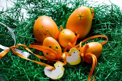 Ovos de Easter Imagens de Stock
