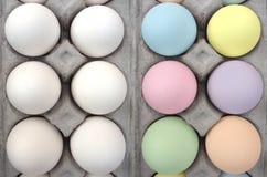 Ovos de Easter, antes e depois da morte Imagem de Stock