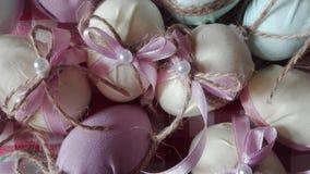 Ovos de Easter caseiros foto de stock royalty free