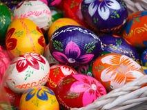 Ovos de Easter coloridos Fotografia de Stock Royalty Free