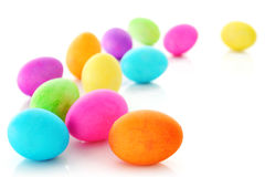 Ovos de Easter coloridos Foto de Stock Royalty Free