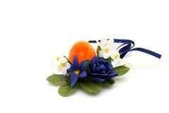Ovos de Easter coloridos foto de stock royalty free