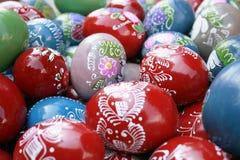 Ovos de Easter coloridos Fotografia de Stock