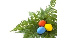 Ovos de Easter coloridos imagens de stock royalty free