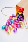 Ovos de Easter coloridos Fotografia de Stock Royalty Free