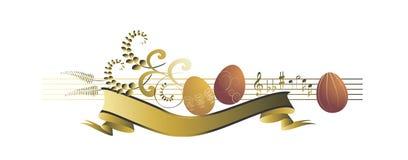 Ovos de Easter, coloridos Fotografia de Stock Royalty Free