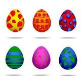 Ovos de Easter coloridos Imagens de Stock