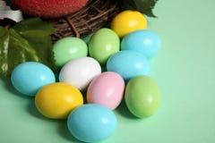 Ovos de easter coloridos isolados Imagem de Stock Royalty Free