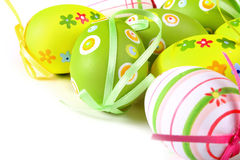 Ovos de Easter coloridos pintados Imagens de Stock Royalty Free