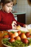 Ovos de easter da coloração Imagem de Stock Royalty Free