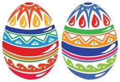 Ovos de easter da cor Ilustração do Vetor