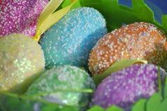 Ovos de easter decorativos Fotografia de Stock