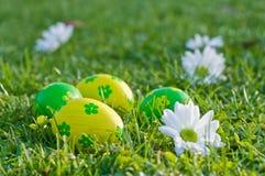 Ovos de easter decorativos Fotografia de Stock Royalty Free