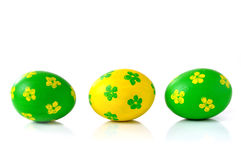 Ovos de easter decorativos Foto de Stock