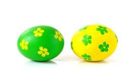Ovos de easter decorativos Imagens de Stock