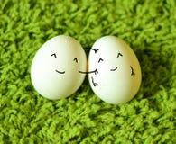 Ovos de easter engraçados Fotografia de Stock Royalty Free