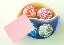Ovos de Easter Handmade Fotos de Stock Royalty Free