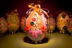 Ovos de Easter Handmade Fotografia de Stock