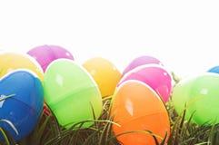 Ovos de Easter isolados no branco Foto de Stock