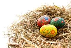 Ovos de Easter pintados Imagem de Stock Royalty Free