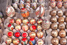 Ovos de easter pintados Imagens de Stock Royalty Free