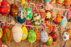 Ovos de easter pintados Fotos de Stock Royalty Free