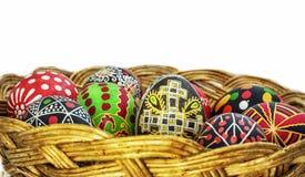 Ovos de easter pintados Fotos de Stock