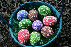 Ovos de easter pintados Fotografia de Stock Royalty Free