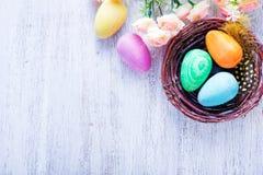 Ovos de easter pintados decorativos Imagem de Stock Royalty Free