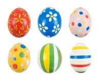 Ovos de Easter pintados mão Foto de Stock Royalty Free