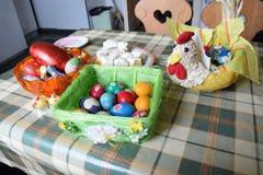 Ovos de easter romenos tradicionais Imagem de Stock