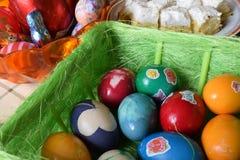 Ovos de easter romenos tradicionais Imagens de Stock Royalty Free