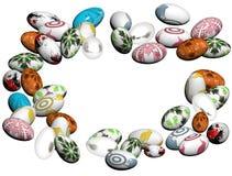 Ovos de Easter tingidos Foto de Stock