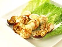 Ovos de mármore rachados Imagens de Stock Royalty Free