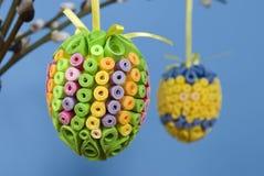 Ovos de papel Fotografia de Stock