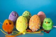 Ovos decorados Fotos de Stock