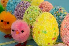 Ovos decorados Imagens de Stock