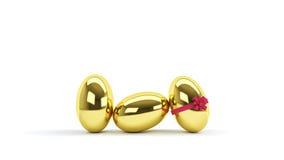 Ovos decorativos Imagem de Stock